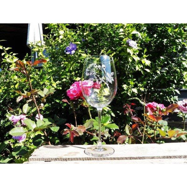 Burgund vinglas
