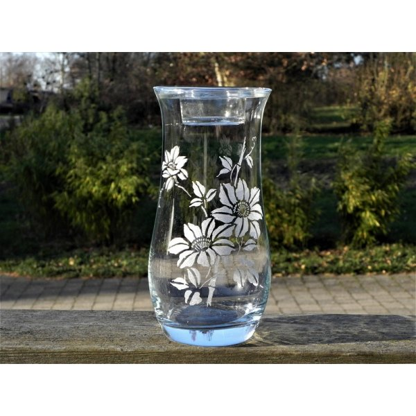 Vase m/fyrfadslåg