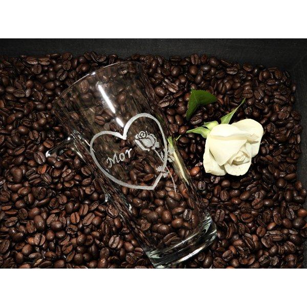 Kaffekrus med hjerte