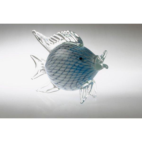 Fisk blå hvid